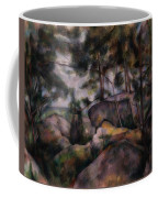 Rocks In The Forest  Coffee Mug
