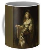 Saskia Van Uylenburgh In Arcadian Costume  Coffee Mug