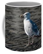 Seagull On Beach Coffee Mug