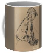 Study Of A Jockey Coffee Mug
