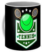 Tennis Player Tennis Racket I Love Tennis Ball Coffee Mug