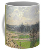 The Garden Of The Tuileries On A Winter Afternoon  Coffee Mug