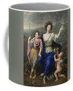 The Marquise De Seignelay And Two Of Her Sons  Coffee Mug
