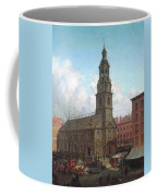 The North Dutch Church  Fulton And William Streets  New York  Coffee Mug