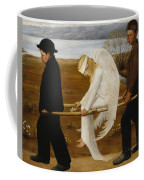 The Wounded Angel Coffee Mug