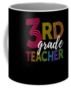 3rd Grade Teacher Light Coffee Mug