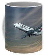 Air Canada Express Bombardier Crj-200er Coffee Mug