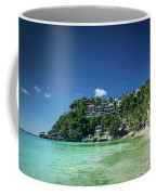 Diniwid Resort Beach View In Tropical Paradise Boracay Island Ph Coffee Mug