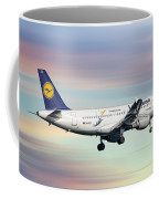 Lufthansa Airbus A319-114 Coffee Mug