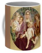 Madonna Of Giverny  Coffee Mug