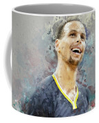 Portrait Of Stephen Curry Coffee Mug