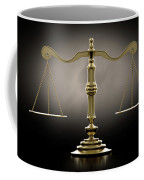Scales Of Justice Dramatic Coffee Mug
