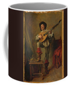 Soldier Playing The Theorbo  Coffee Mug