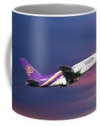 Thai Airways Airbus A380-841 Coffee Mug