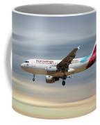 Eurowings Airbus A319-112 Coffee Mug