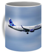 Jetblue Airways Embraer Erj-190ar Coffee Mug