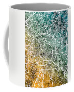 Milan Italy City Map Coffee Mug
