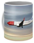 Norwegian Boeing 737 Max 8 Coffee Mug