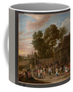 Peasants Dancing And Feasting  Coffee Mug
