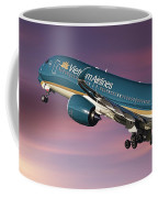 Vietnam Airlines Airbus A350 Coffee Mug