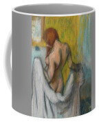 Woman With A Towel  Coffee Mug