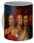 Young Omahaw, War Eagle, Little Missouri, And Pawnees Coffee Mug