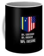 50 Curacaoan 50 American 100 Awesome Coffee Mug