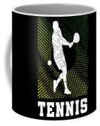 Tennis Player Tennis Racket I Love Tennis Ball Coffee Mug