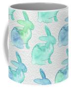 Watercolor Bunnies 1i Coffee Mug