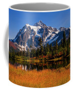 Autumn Colors With Mount Shuksan Coffee Mug