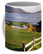 7th Hole At Pebble Beach Golf Links Coffee Mug