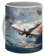 Air India Boeing 787-8 Dreamliner Coffee Mug