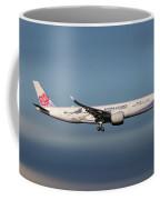 China Airlines Airbus A350-941 Coffee Mug