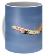 Pegasus Airlines Boeing 737-82r Coffee Mug