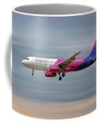 Wizz Air Airbus A320-232 Coffee Mug