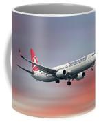 Turkish Airlines Boeing 737-9f2 Coffee Mug
