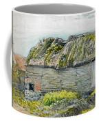 A Barn With A Mossy Roof, Shoreham - Digital Remastered Edition Coffee Mug