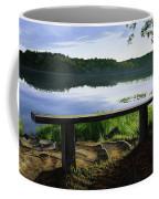 A Bench To Ponder Coffee Mug