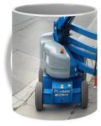 A Boom Lift Genie Z45 Machine Coffee Mug