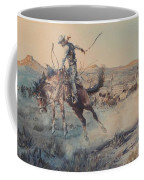 A Bucking Bronco, Edward Borein Coffee Mug