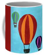 A Bunch Of Hot Air Coffee Mug by Deborah Boyd
