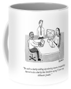 A Charity Tackling Income Inequality Coffee Mug