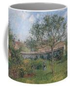 A Corner Of The Meadow At Eragny, 1902 Coffee Mug