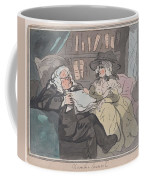 A Counselor's Opinion After He Had Retired From Practice After Thomas Rowlandson British, London 17 Coffee Mug