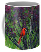 A Flash Of Red Coffee Mug
