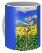 A Friendly Giraffe Hello Coffee Mug