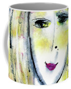 A Girl By The Artist Catalina Lira Coffee Mug