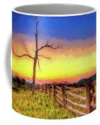 A Gorgeous Blue Ridge Sunrise Ap Coffee Mug