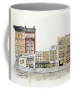 A Greenwich Village Streetscape Coffee Mug