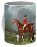 A Huntsman And Hounds, 1824  Coffee Mug